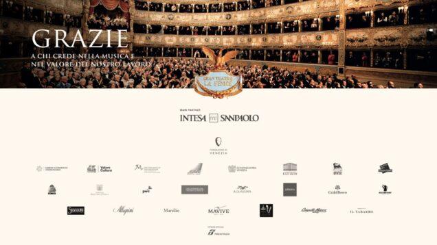 <span>FULL </span>Opera Concert from La Fenice Venice 2021 Calligari Pirozzi Pretti Luciano