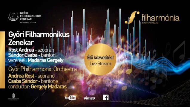 <span>FULL </span>Opera Concert Györ 2021 Andrea Rost Csaba Sándor