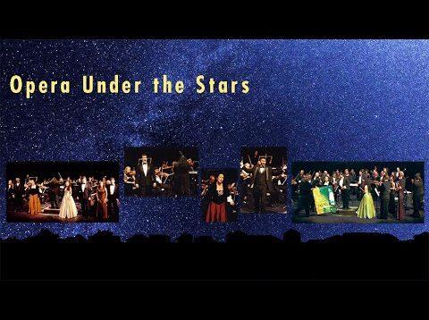Opera Under The Stars Los Angeles 1995 Castronovo Di Giacomo Cooper