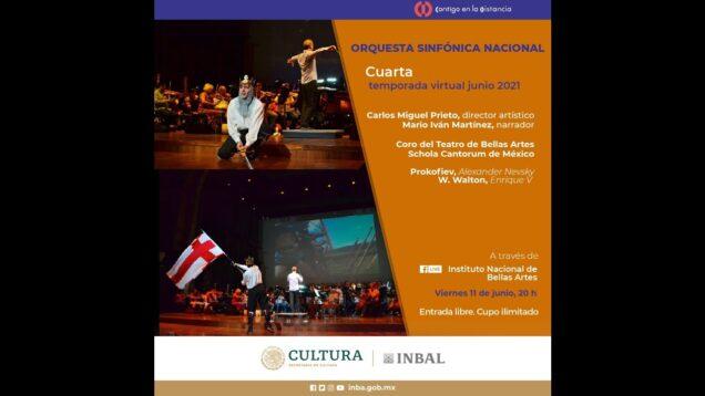 <span>FULL </span>Alexander Nevsky (Prokofiev) & Henry V (Walton) Mexico City 2021