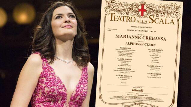 Marianne Crebassa Recital Milan 2021