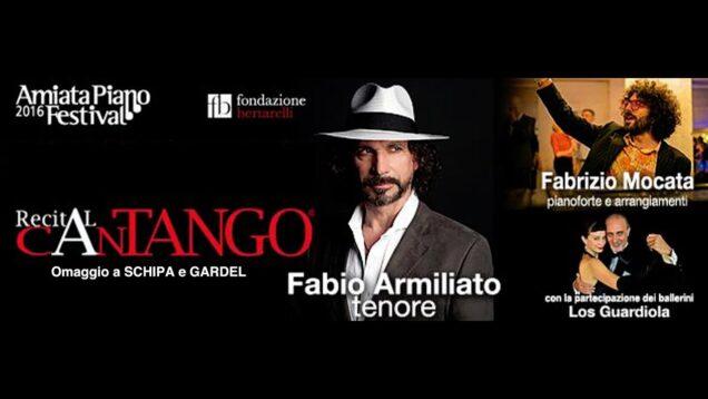 <span>FULL </span>CanTANGO Homaggio a Gardel e Schipa Cinigiano 2016 Fabio Armiliato