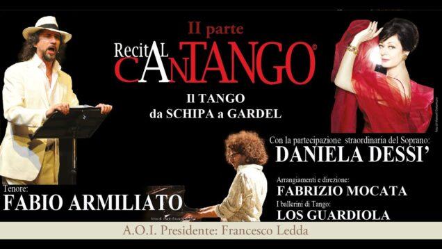 <span>FULL </span>CanTANGO Homaggio a Gardel e Schipa Lecce 2015 Armiliato Dessi