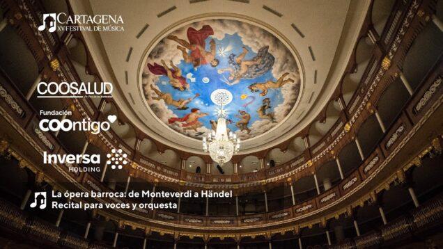 <span>FULL </span>La ópera barroca: de Monteverdi a Händel Cartagena 2021