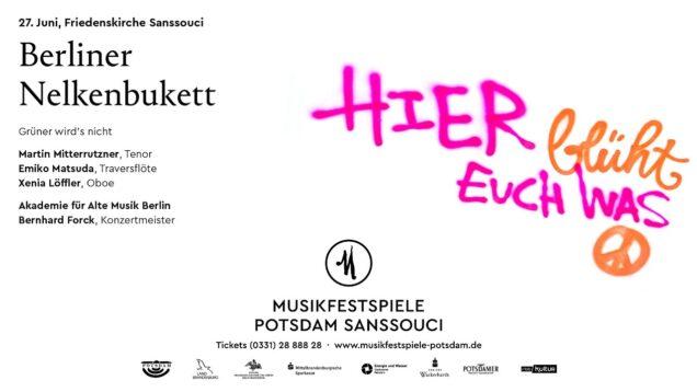 <span>FULL </span>Berliner Nelkenbukett Potsdam 2021 Martin Mitterrutzner