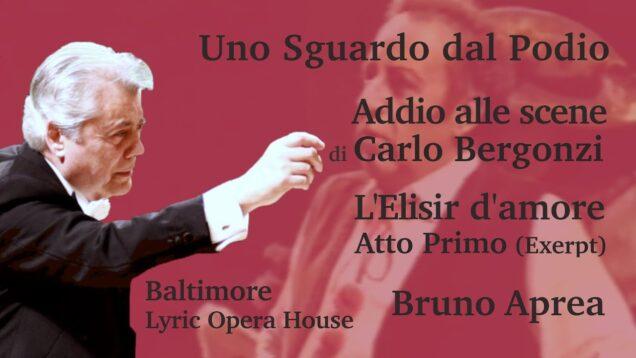 L'elisir d'amore Selections Baltimore 1993 Bergonzi Rost Gregor
