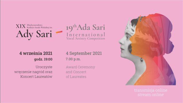<span>FULL </span>Ada Sari International Vocal Artistry Competition Final Nowy Sacz 2021
