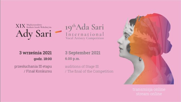 <span>FULL </span>Ada Sari International Vocal Artistry Competition Nowy Sacz 2021