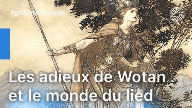 <span>FULL </span>Les Adieux de Wotan et Le monde du Lied Limoges 2020